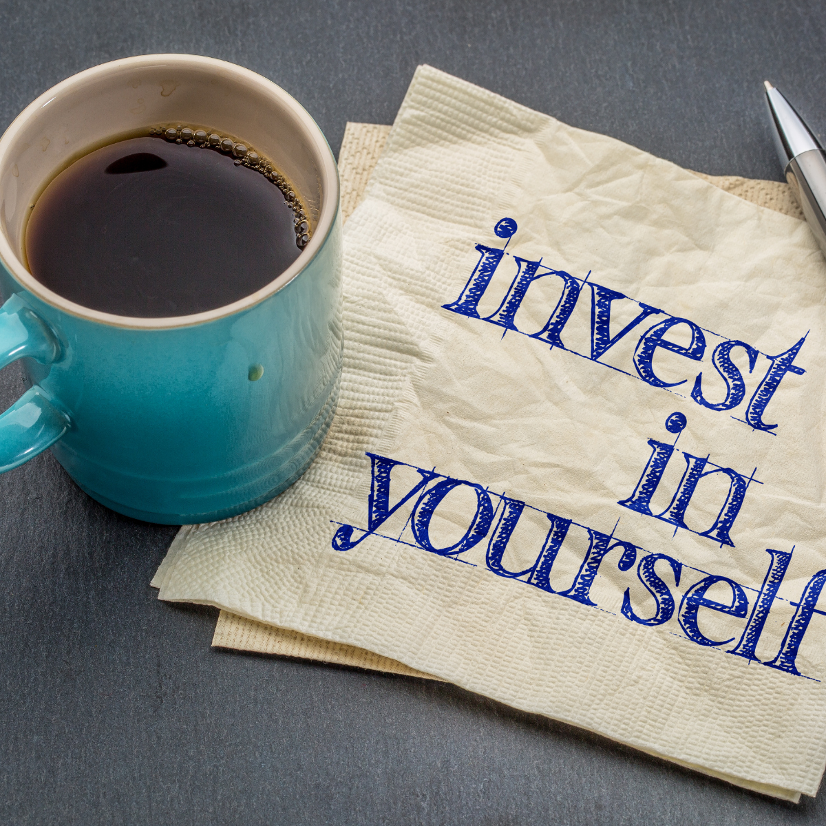 Time to invest in yourself