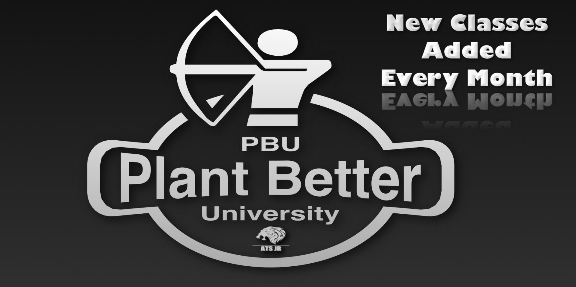 Join Plant Better University