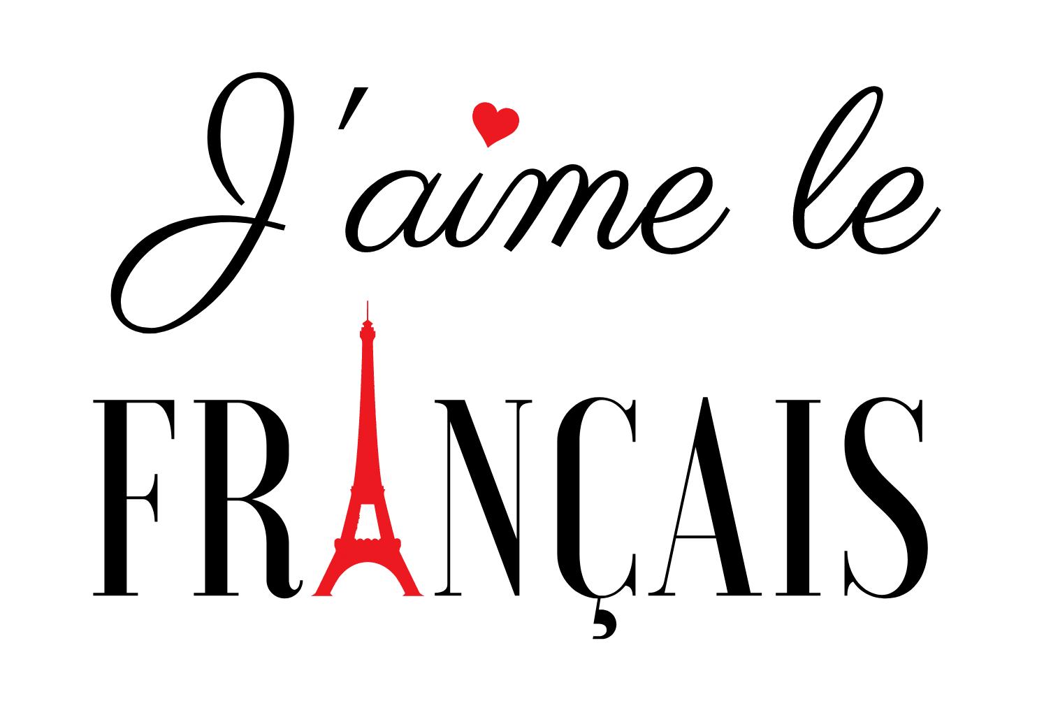 J'aime le français - Parlez français avec confiance !