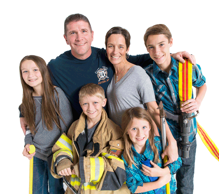 Become a better husband, father, firefighter and first responder today