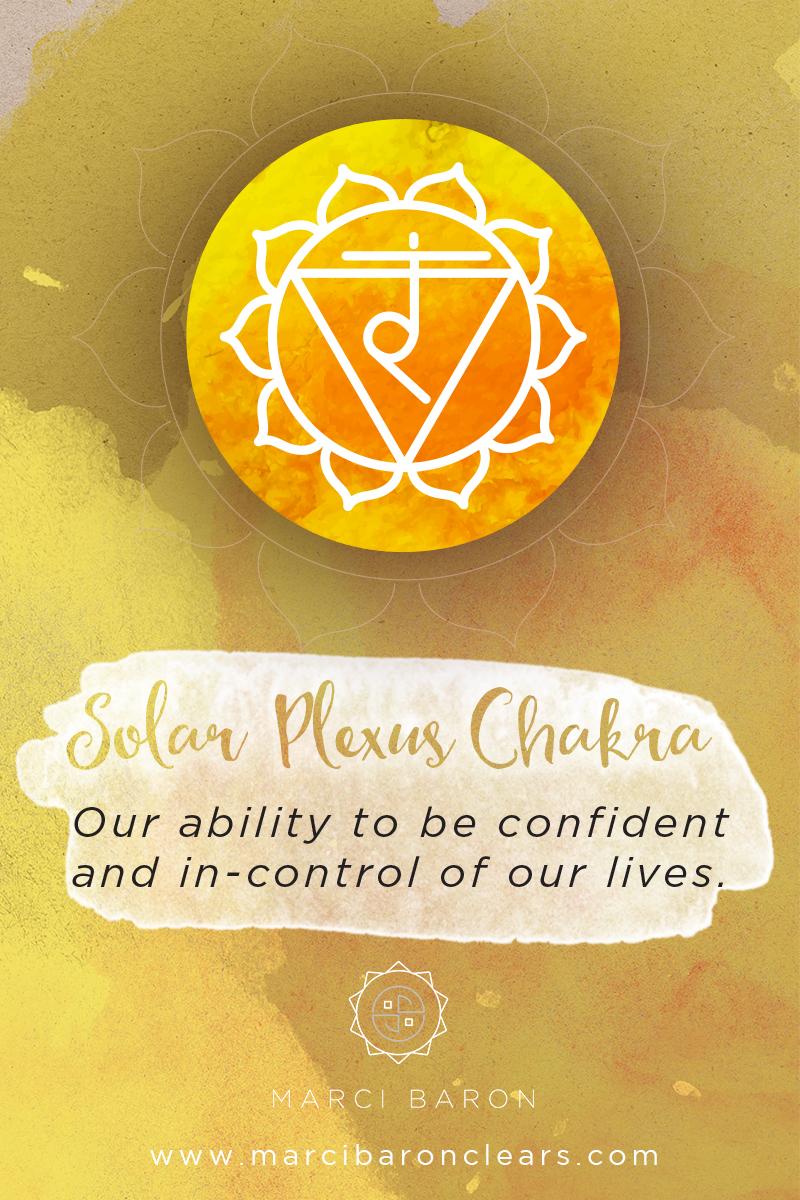 In the Solar Plexus Chakra healing...