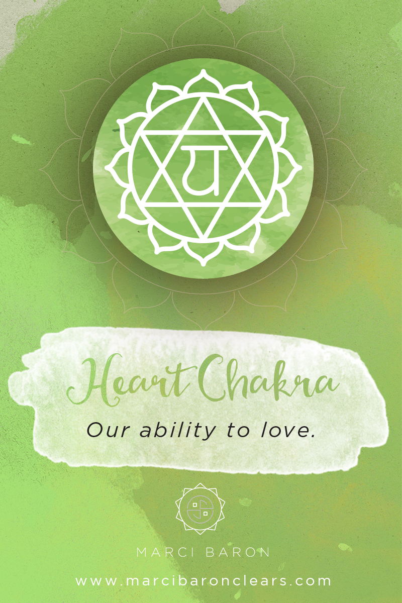 In the Heart Chakra healing...