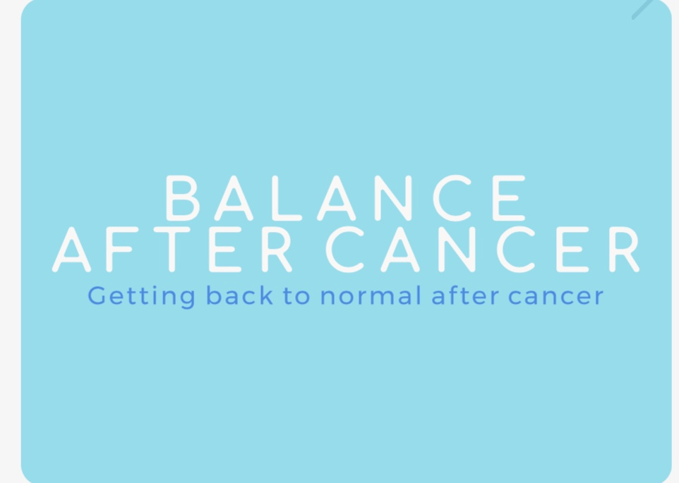 Learn from home, on your time for your balance after cancer.