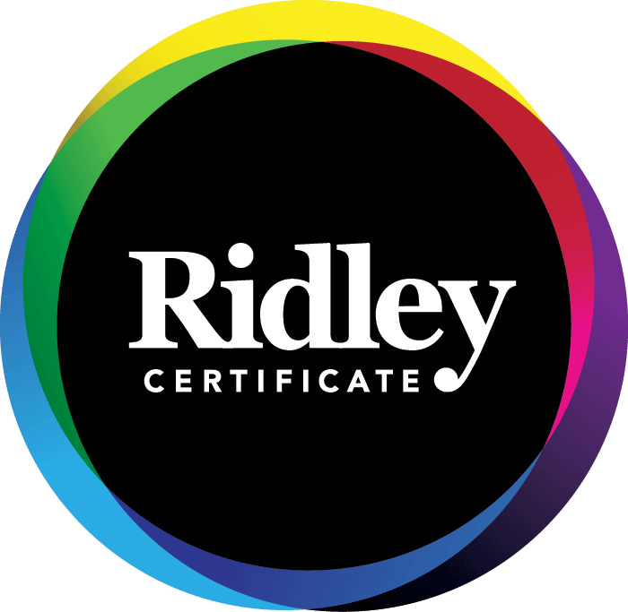 Ridley Certificate
