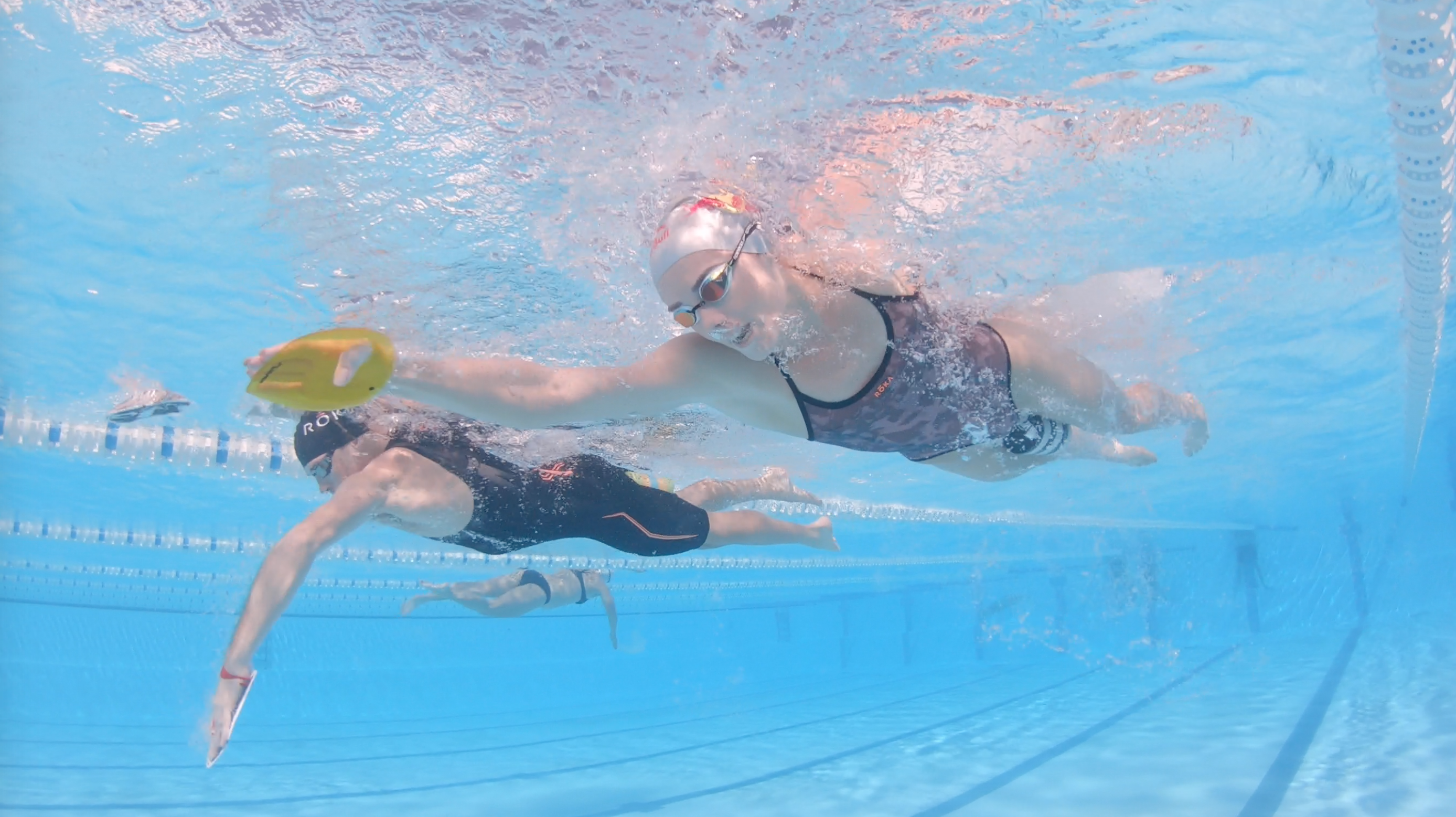 HOW TO SWIM WITH LUCY CHARLES & REECE BARCLAY