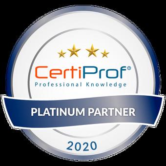 CertiProf Platinum Partner 2020