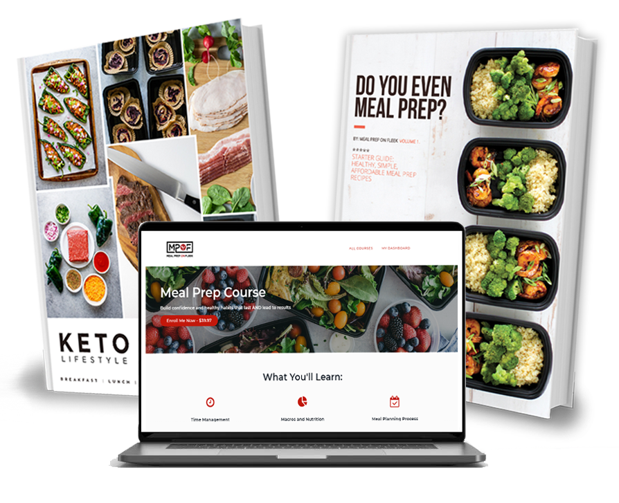 Meal Prep Course and Starter Guides
