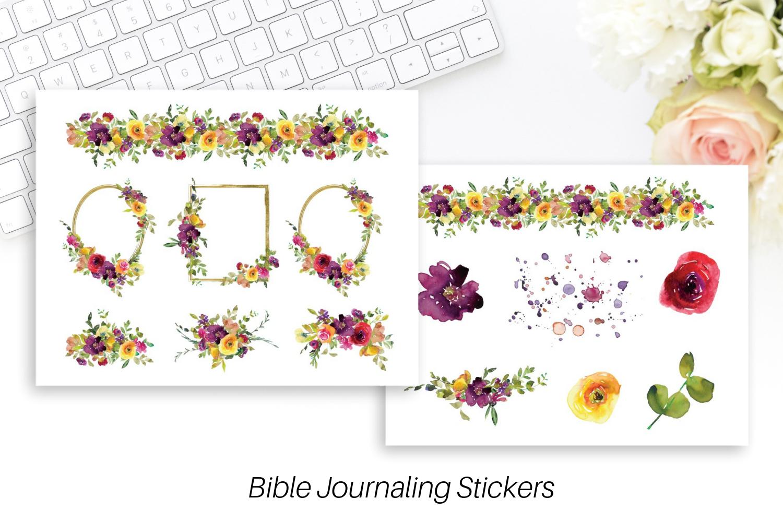 Bible journaling stickers