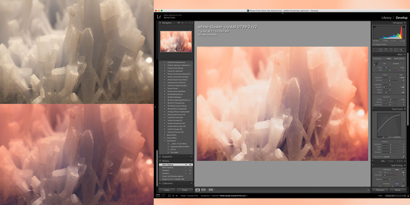 Be inspired watching how artists and graphic designers use Lightroom