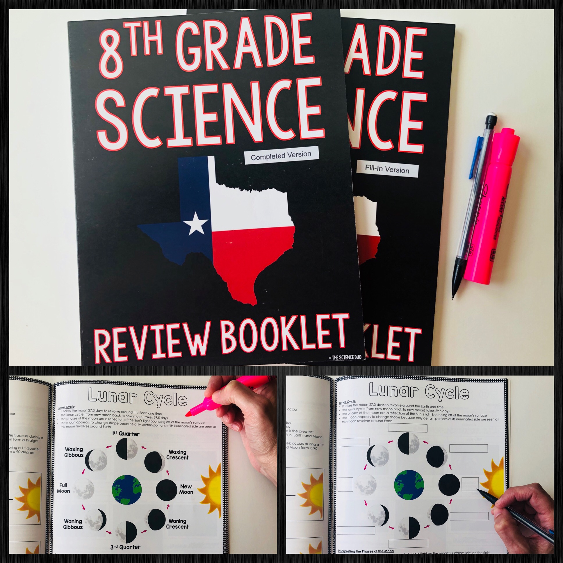8th Grade Science Review Booklet