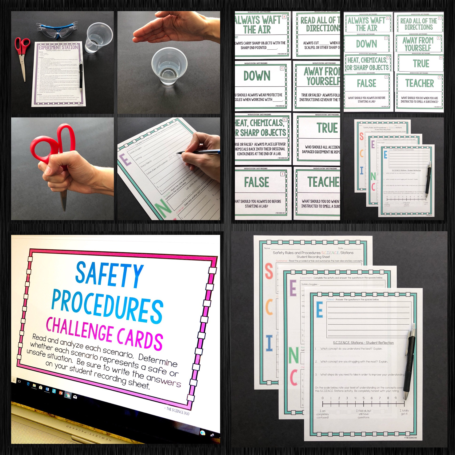 Safety and Scientific Method S.C.I.E.N.C.E. Station Bundle