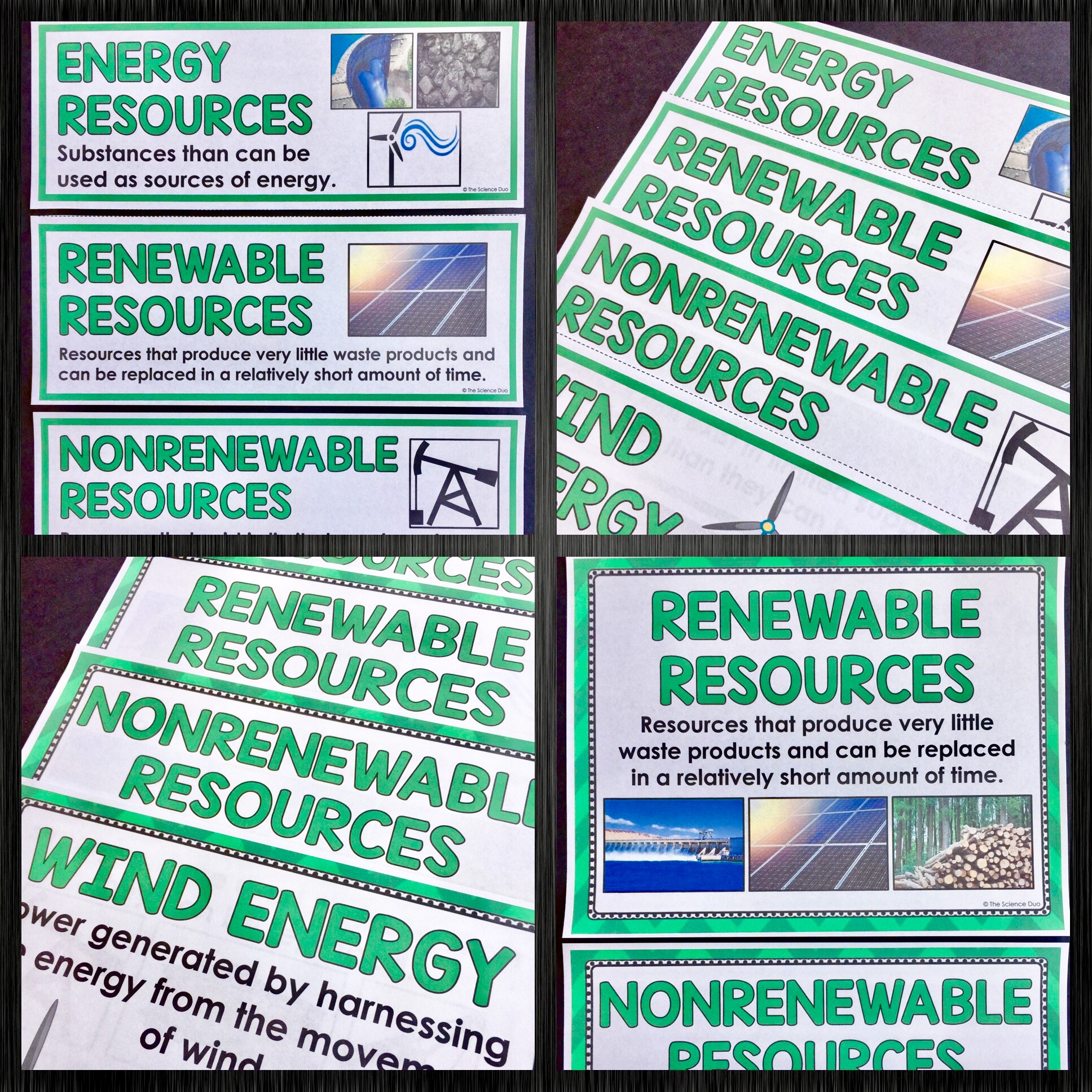 Energy Word Wall