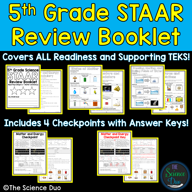 5th Grade Science Review Booklet