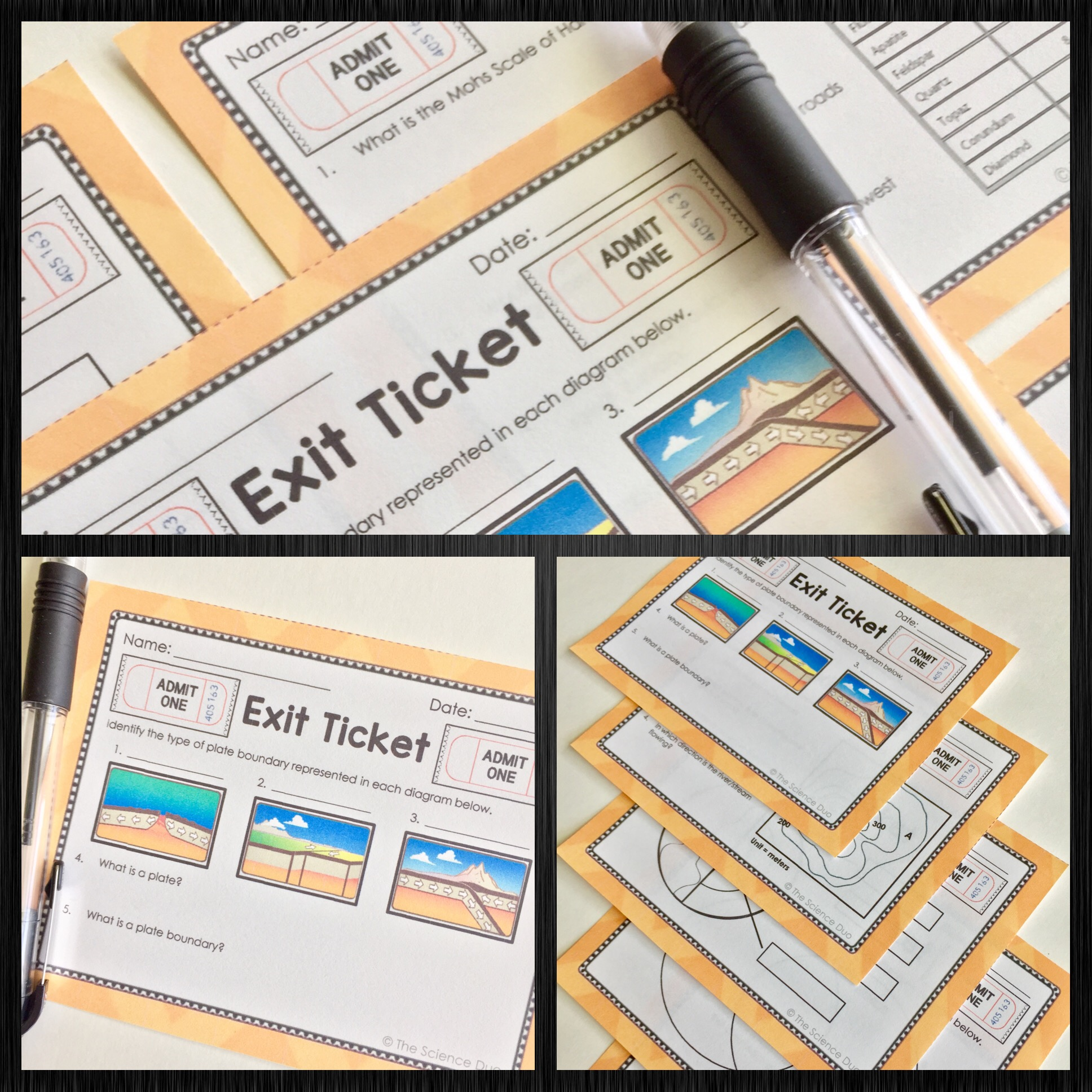 Earth Exit Tickets