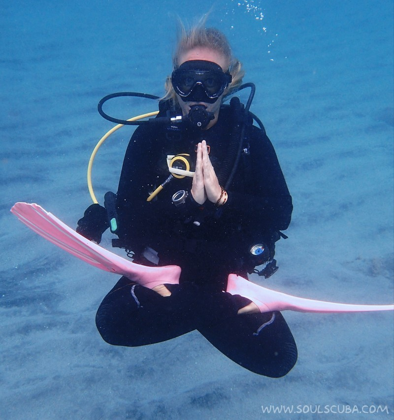 Learn how to use the foundations of Yoga to enhance your Scuba Diving Experience
