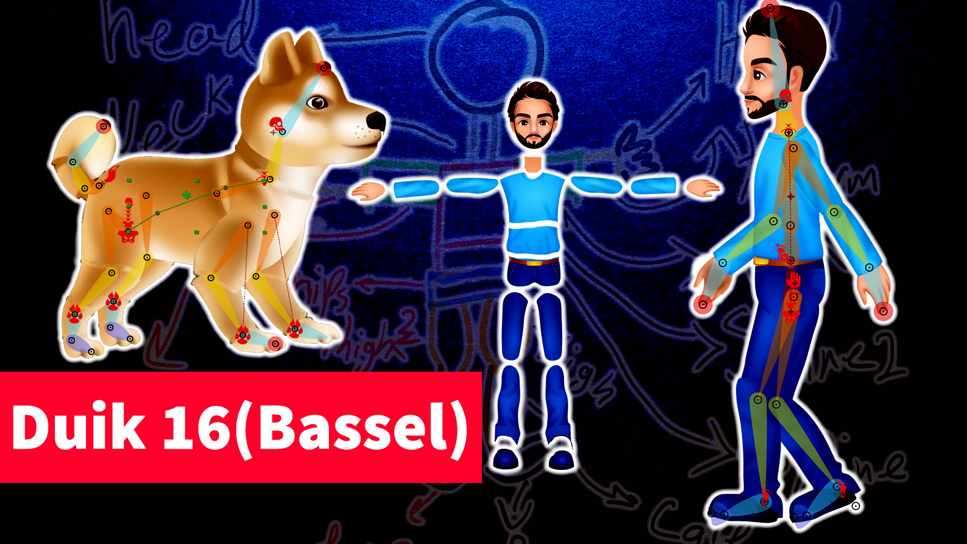 Duik Bassel 2019 Rigging&Animation|Beginner to Advanced| AE