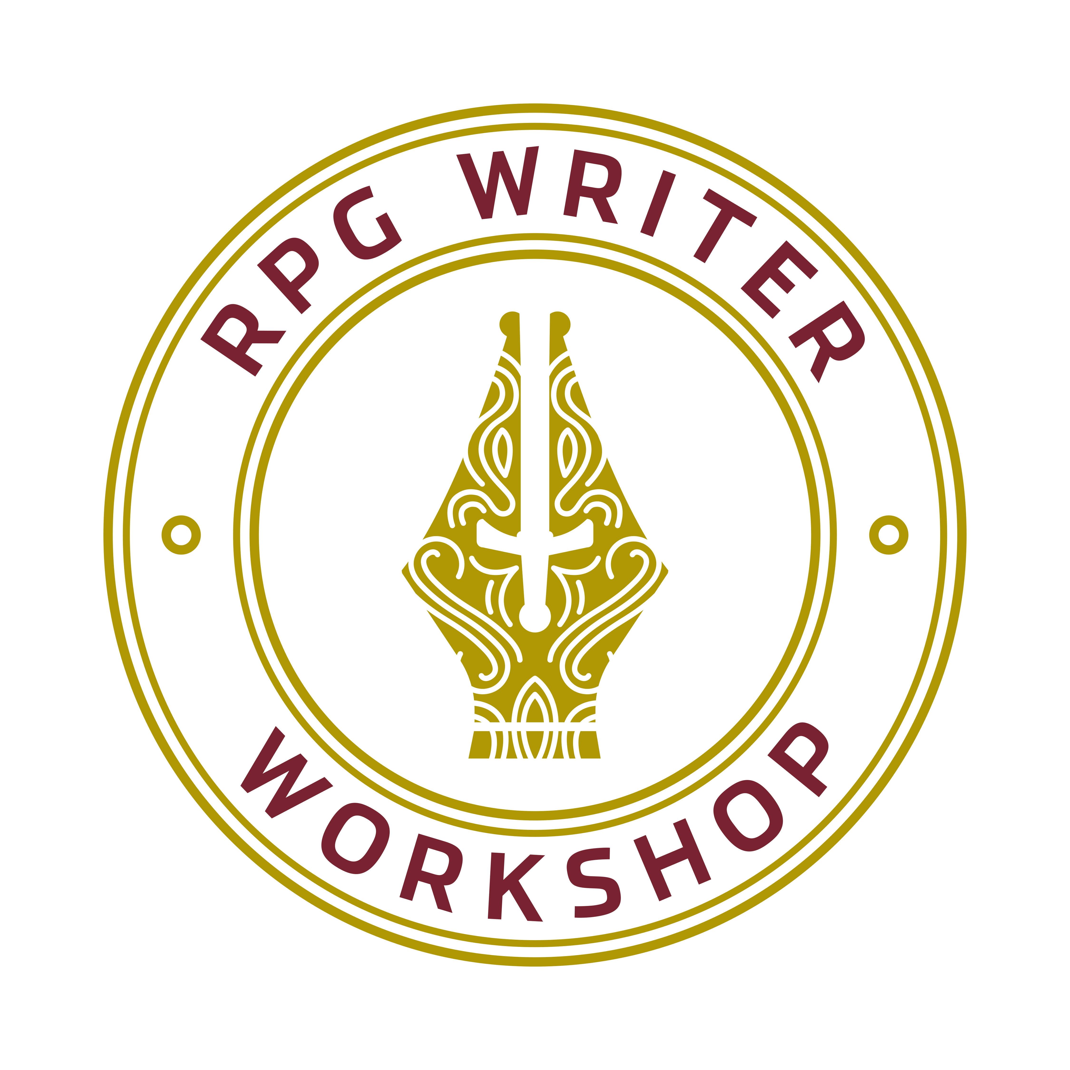 Rpg writing workshop logo