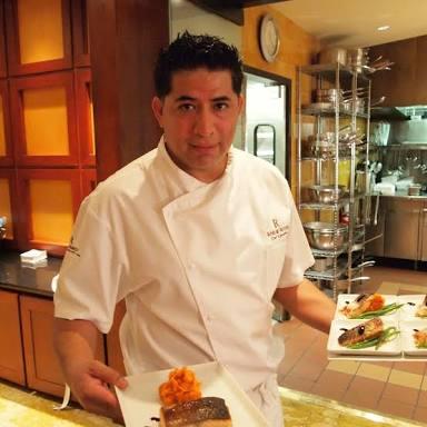 Amilcar Arcos, Chef Ejecutivo en Pueblo Bonito, Sunset Beach, Los Cabos.