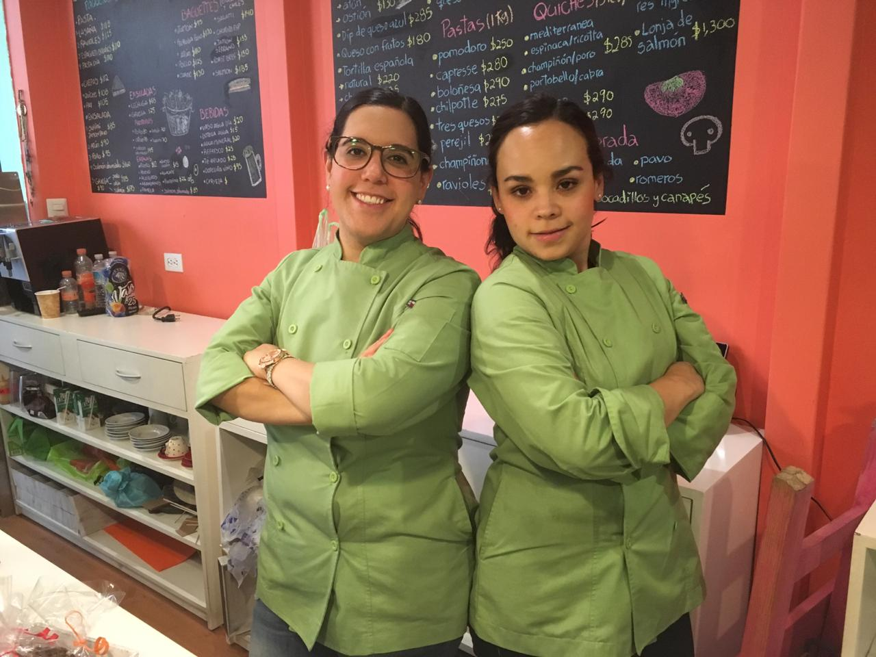 Ana Pérez y María Behar, Chefs Propietarias en Mary & Anne, CDMX.