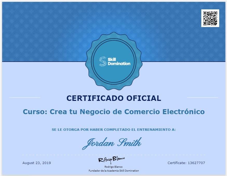 Obtén un Certificado con Validez Internacional