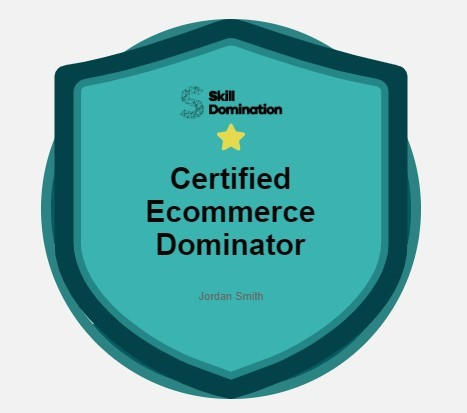 Conviertete en Certified eCommerce Dominator
