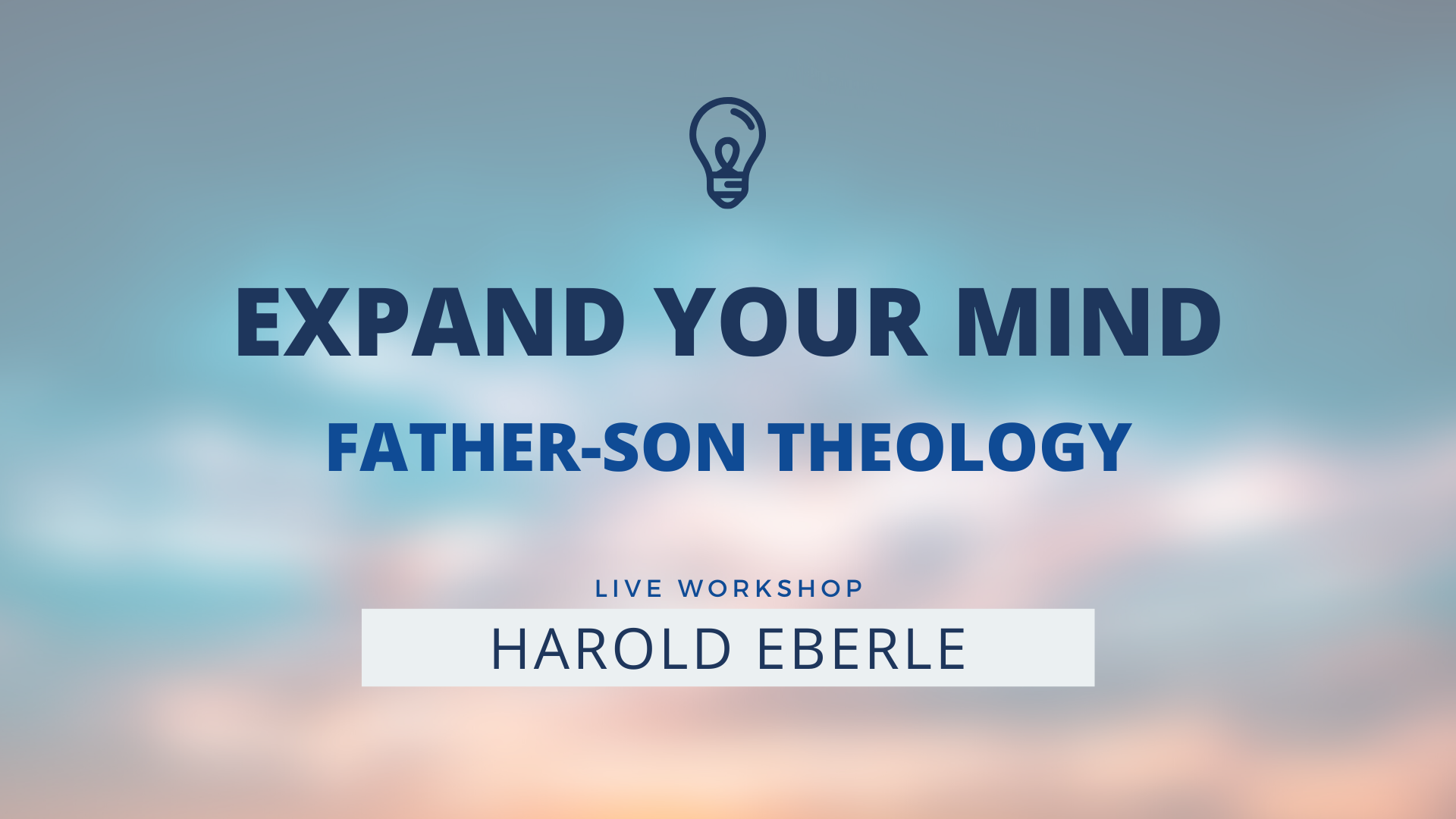 Expand your Mind with Harold Eberle