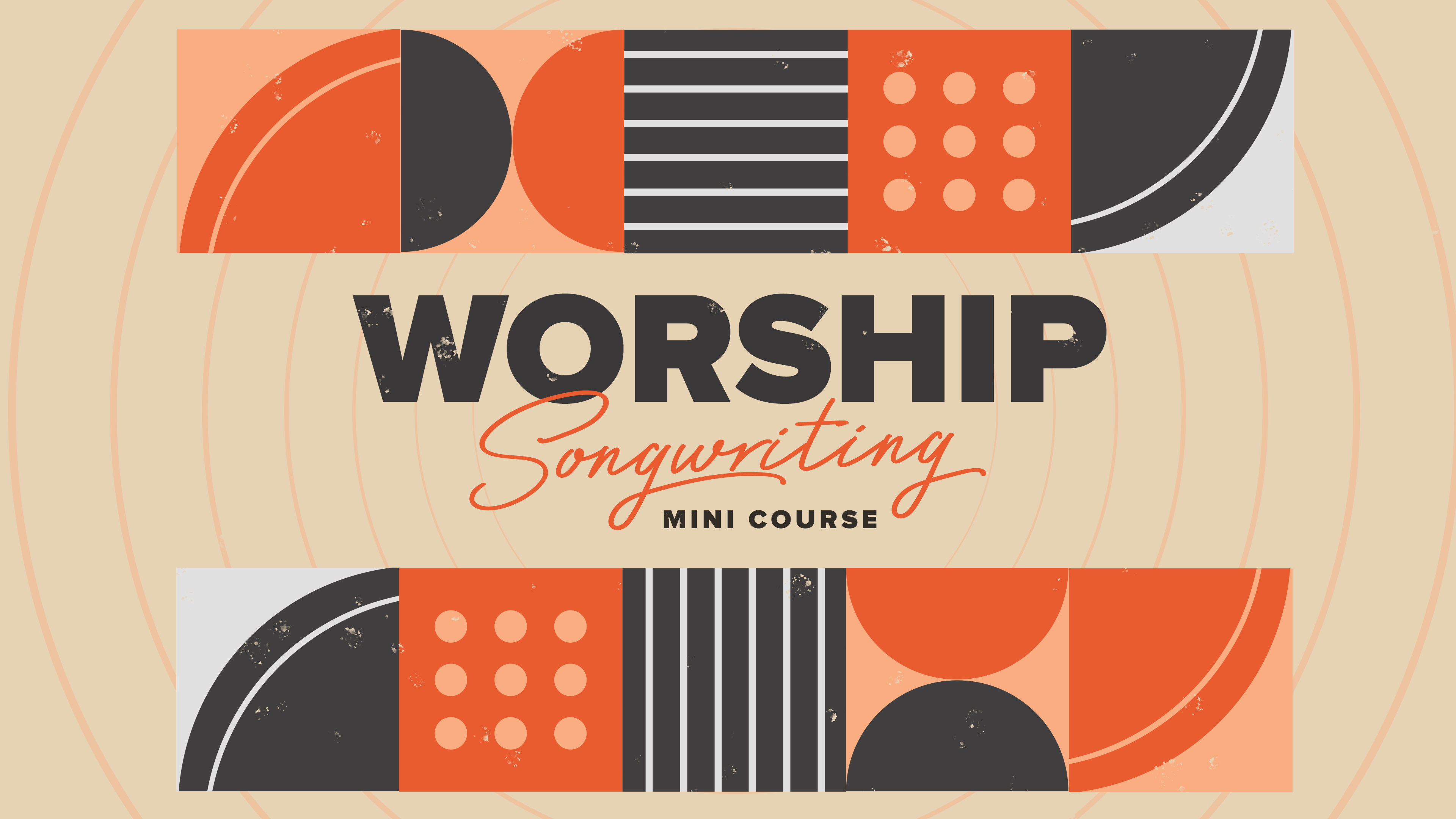 About Worship Songwriting