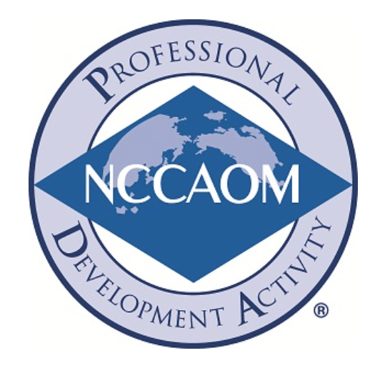 NCCAOM Approved