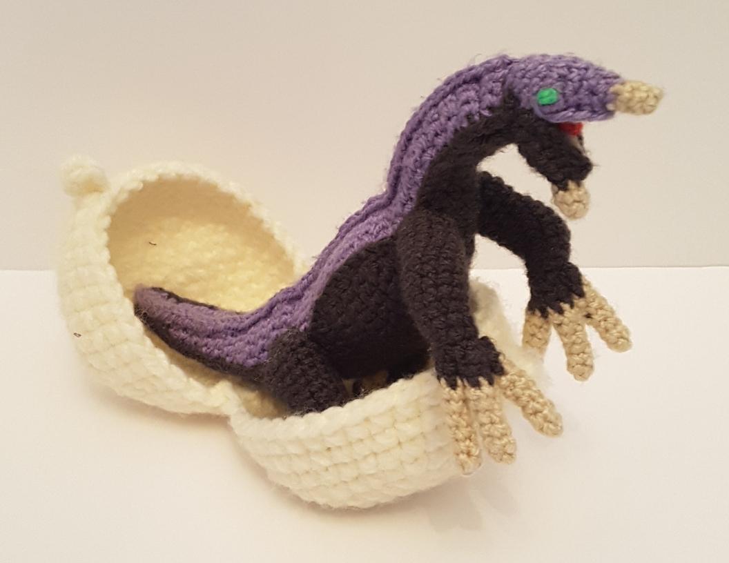 Baby Therizinosaurus