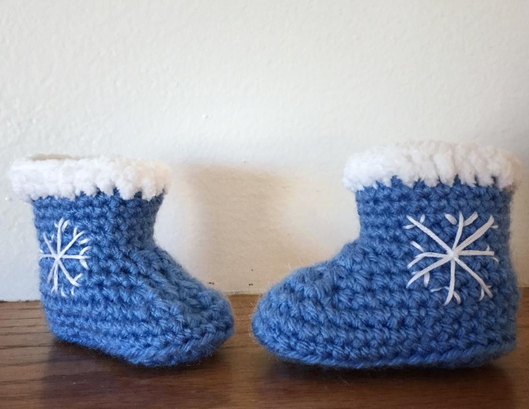 Snowflake Booties