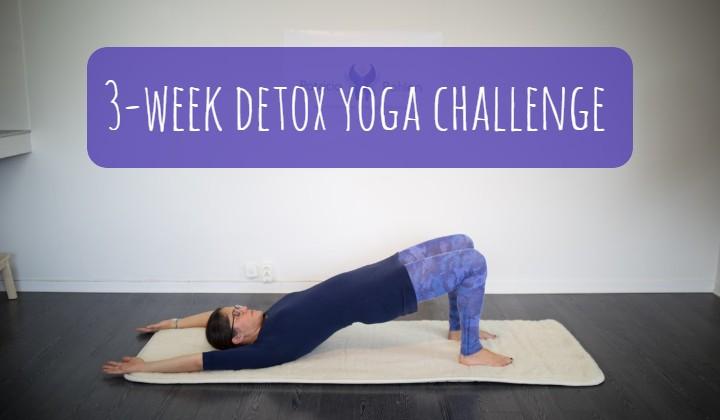 3-week detox yoga challenge