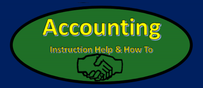 Accounting Instruction Help & How To