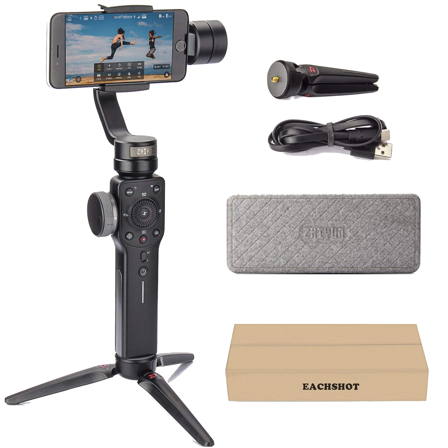 Gimbal Smooth 4: Swivel Handheld Tripod