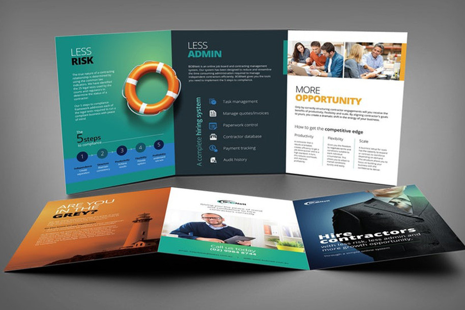 FLYER & BROCHURE DESIGN