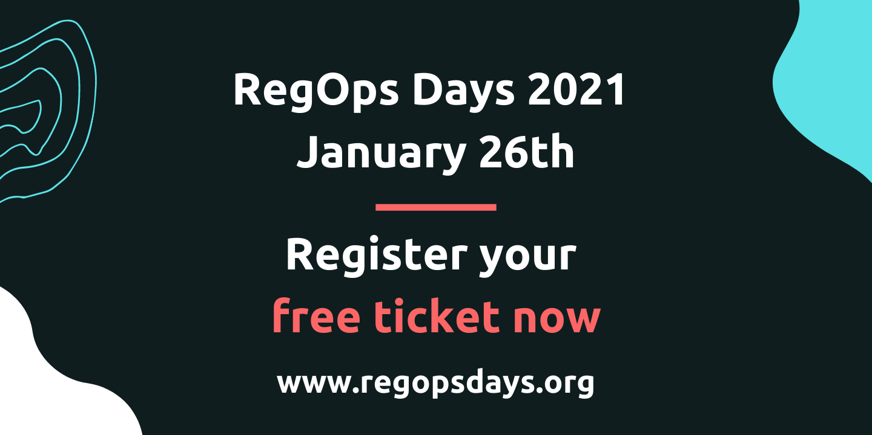RegOps Days 2021