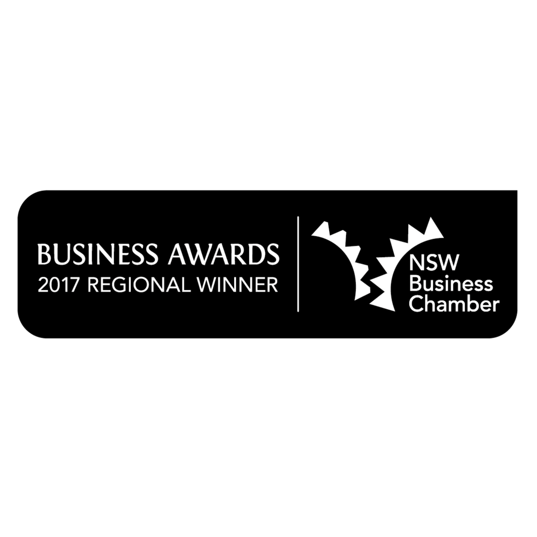 Serena Dot Ryan - NSW Business Chamber Regional Winner 2017