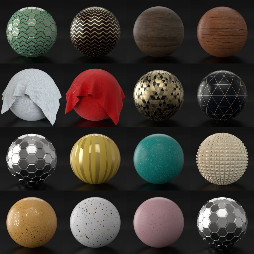 The Octane Materials Masterclass by CG Shortcuts