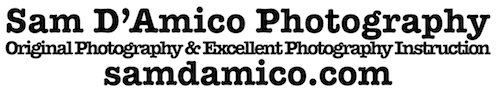 Being A Photographer - Sam D'Amico's Online Membership Website For Photographers