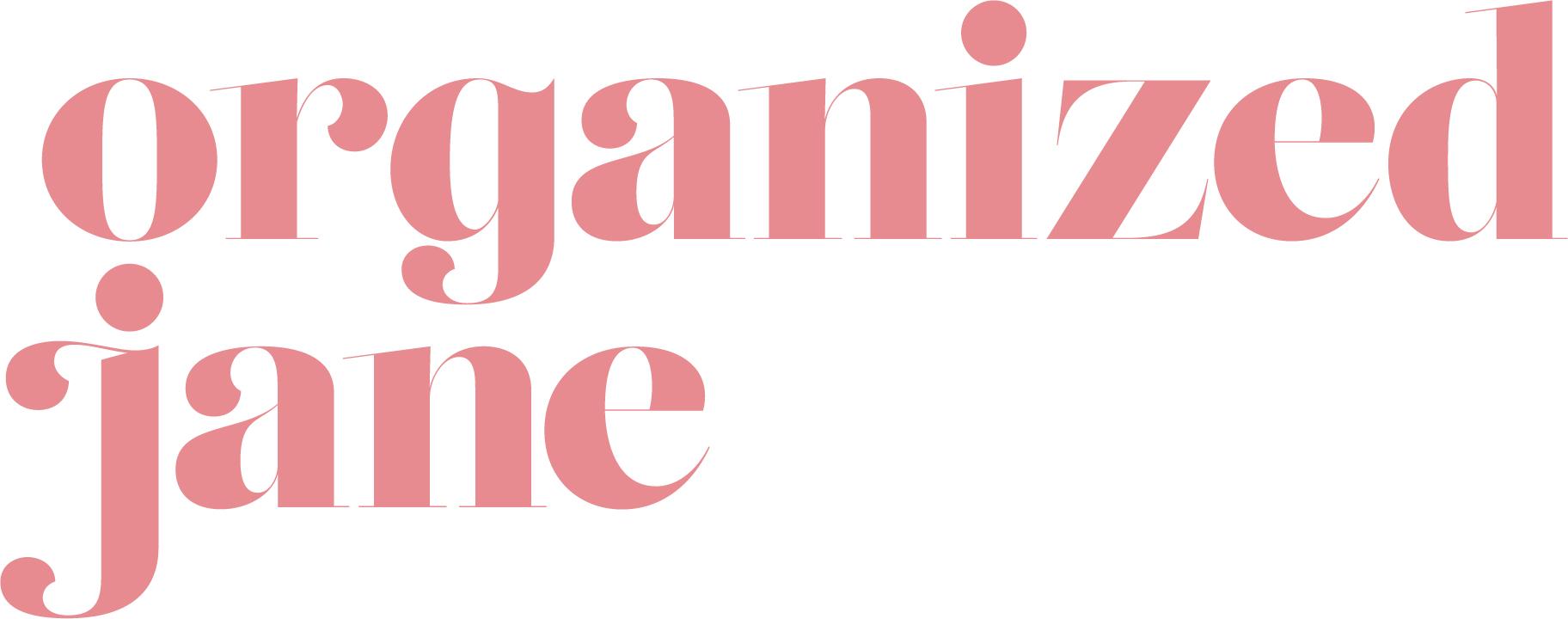 Organized Jane Coaching