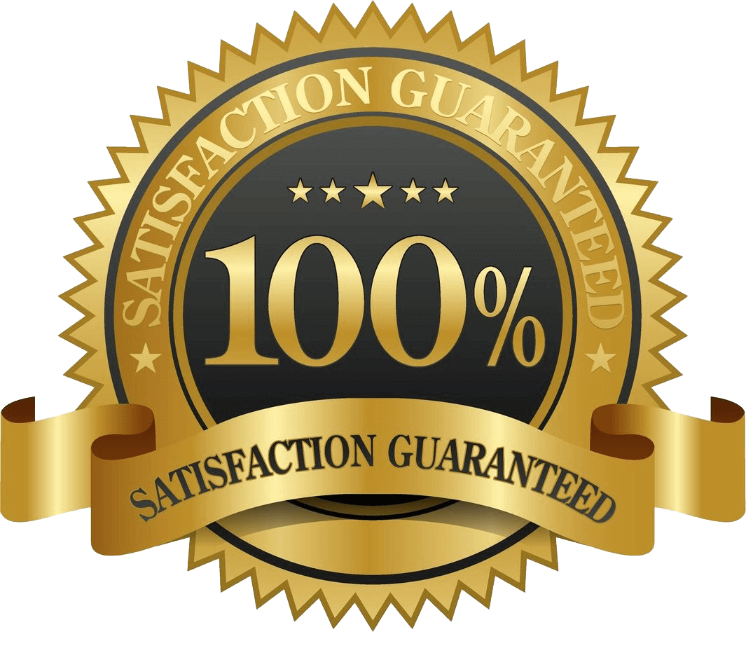 our courses are 100% guaranteed