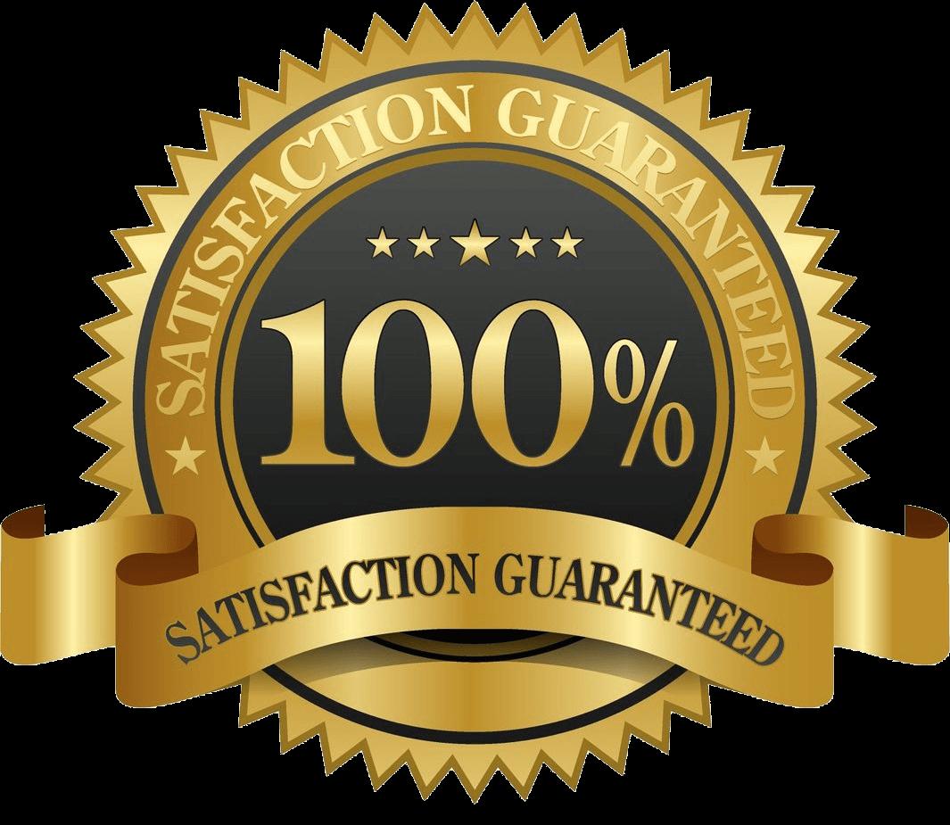 100% course satisfaction guaranteed