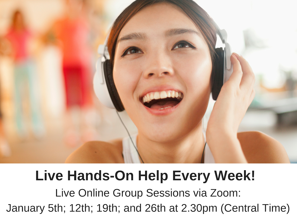 Live Online Group Sessions, Weekly