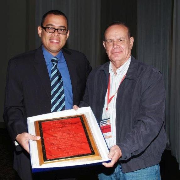 Con Prof. Gustavo Corredor Müller