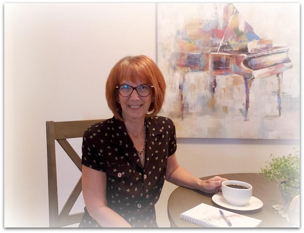 Candi Randolph, midlife blogger and author