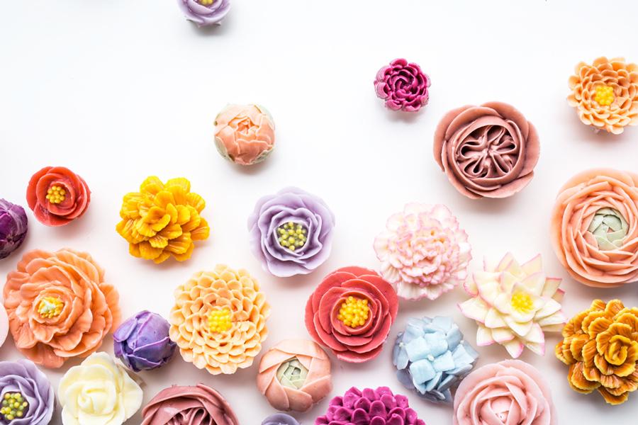 Buttercream <br>Flowers Class