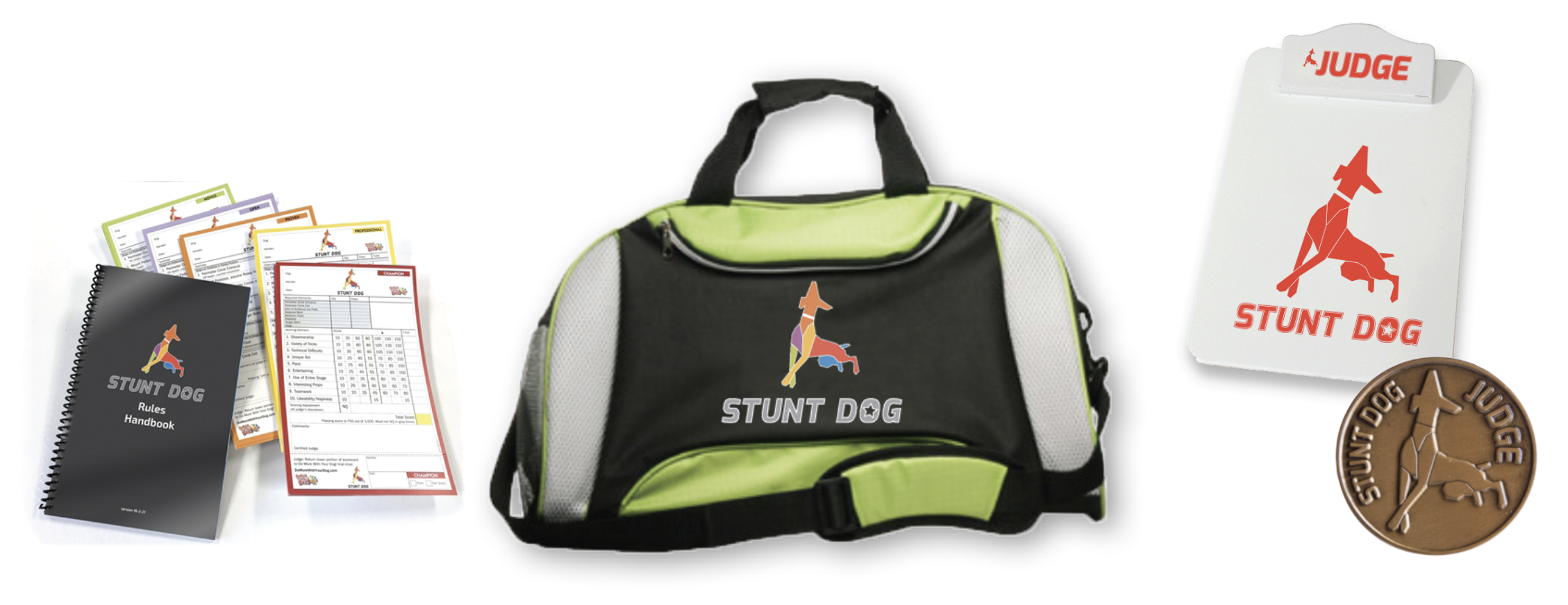 Comes with Free Stunt Dog Kit!