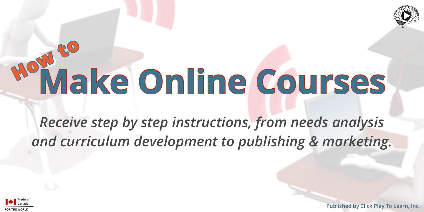 How to Make Online Courses.