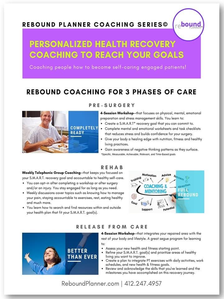 Rebound Planner Series©