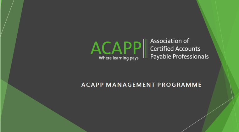 ACAPP Management Certification
