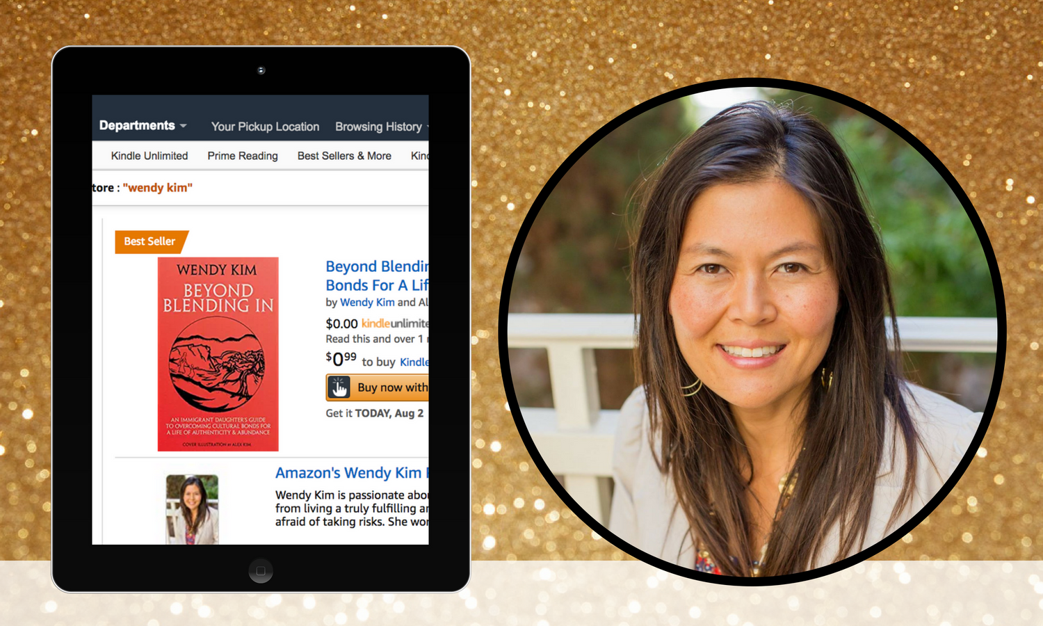 bestselling author success story wendy kim